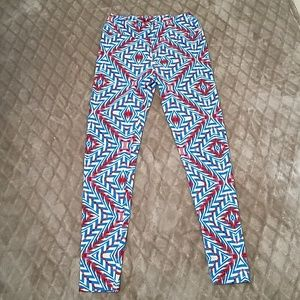 Lularoe patriotic leggings